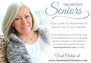 Ad for Senior San Antonio website